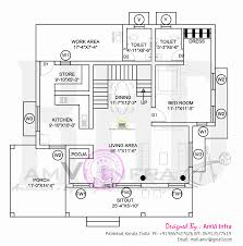 ground floor and first plan incredible elevation with free kerala