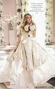 taffeta ball gown carrie bradshaw and the city wedding dress