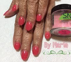 acrylic nails vs sns gel nails filing