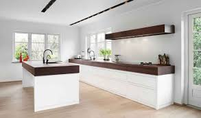 wonderful design ideas white and brown kitchen designs finish