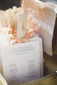 Hand Fan Wedding Programs Get With The Program Why You Need Wedding Programs