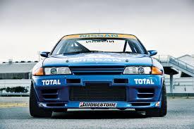 nissan skyline nissan skyline gt r r32 calsonic race car pictures nissan