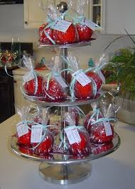 caramel apple party favors 7 best favors for weddings images on valentines day