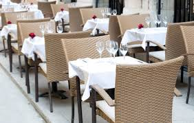 Restaurant Patio Chairs Don T Let The Wind Your Beautiful Patio Furniture