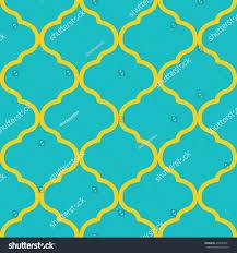 seamless moroccan trellis pattern stock vector 499433551