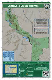 Colorado Trail Maps by Castlewood Canyon State Park Outthere Colorado