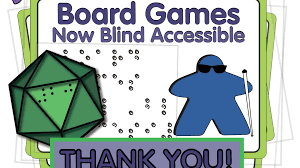 Big Blind Small Blind Rules Board Games Now Blind Accessible By 64 Oz Games U2014 Kickstarter