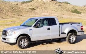 2004 ford f150 lariat mpg pickuptruck com road test 2004 ford f 150 stx supercab 4x4