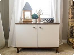 Knock Off Modern Furniture by Modern Custom Built Media Cabinet