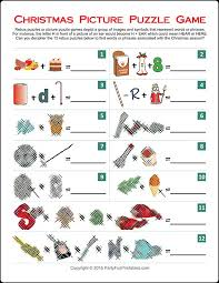 Christmas Games For Party Ideas - christmas picture puzzle games pinterest picture puzzles