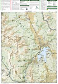 Vail Colorado Map by Vail Frisco Dillon National Geographic Trails Illustrated Map