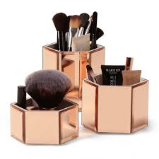 makeup brush holder rose gold makeup aquatechnics biz