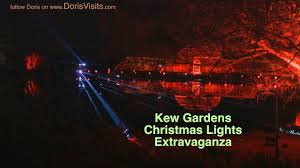 kew gardens christmas lights youtube