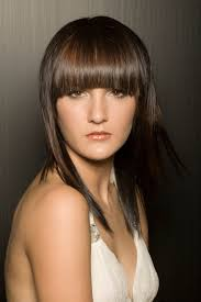 hairstyles with side bangs and layers for medium hair hairstyle