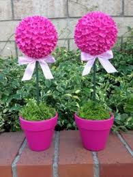 Topiary Balls With Flowers - sunflower topiary trees love this idea of topiary but with