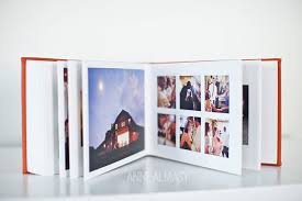 Wedding Albums And More Wedding Album Queensberry Press Album With A Tangerine Leather