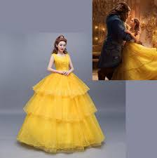halloween costumes belle beauty beast beauty and the beast 2017 live edition princess belle cosplay