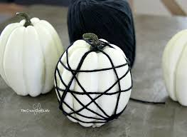 Mini Pumpkin Decorating Spider Web Pumpkins The Easiest Way To Decorate Pumpkins The