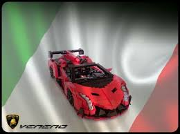 lamborghini veneno lego lego ideas project lamborghini veneno roadster a lego creation