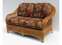 Cushions For Wicker Settee Wicker Furniture U0026 Lloyd Flanders Replacement Cushions For Sale