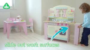 early learning centre wooden cottage kitchen mothercare youtube