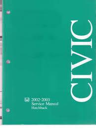 honda civic ep3 02 03 service manual pdf airbag leak