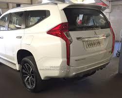 mitsubishi shogun 2016 2017 mitsubishi shogun sport spyshot indian autos blog