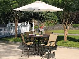 Patio Umbrella Table by Patio 21 Patio Dining Set With Umbrella Large Table