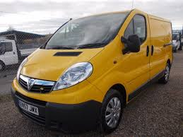 vauxhall yellow used 2008 vauxhall vivaro 2900cdti swb ex aa for sale in