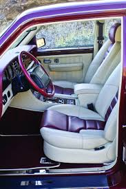 pink bentley interior prestige and performance 1993 1997 bentley brooklan hemmings
