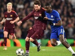 Lionel Messi Leg League Lionel Messi Ends Chelsea Drought To Give Barcelona Last 16 Edge