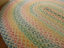 Chenille Braided Rug Pastel Braided Rugs Roselawnlutheran