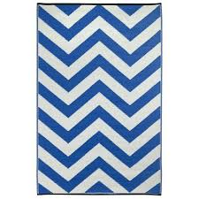Outdoor Chevron Rug Blue And White Chevron Rug Chevron Indoor Outdoor Area Rug Royal
