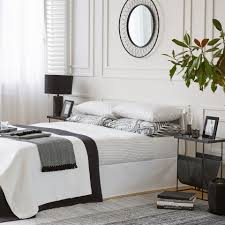 dyed thread percale cotton bed linen zara home united kingdom