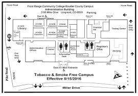 admin building floor plan administration building map on boulder county cus frcc