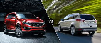 suv kia 2015 kia sportage vs 2015 ford escape