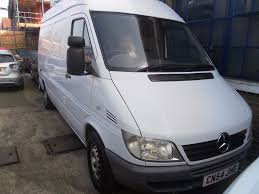 2004 mercedes benz sprinter 311 cdi 2 2 diesel manual white fridge