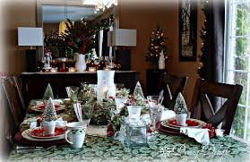 Christmas Centerpieces For The Dining Table by Dining Delight Christmas Sideboard Decorations
