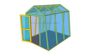 build a mini greenhouse plans