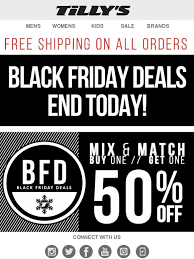 best black friday deals tillys tilly u0027s black friday deals end today free shipping on all