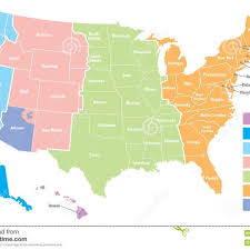 map of usa time zones timezone map usa map of usa