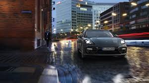 porsche panamera turbo 2017 2017 porsche panamera bows with sportier sleeker styling