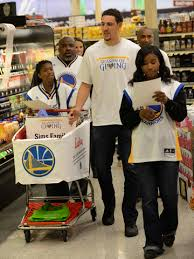 shop with the warriors presented by lucky supermarkets golden