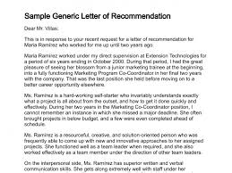 ideas of recommendation letter from your boss with template sample