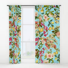 Leaf Design Curtains Window Curtains U2013 Society6 Curated