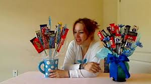 candy basket ideas how to make a candy bar bouquet