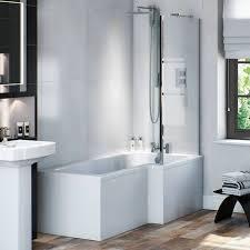 shower bath suite stunning p shape shower bathroom suites
