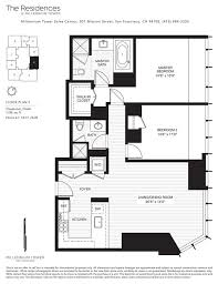 e floor plans 13 best millennium tower sf floor plans images on pinterest floor