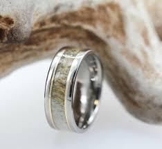 Deer Antler Wedding Rings by Stunning Wedding Rings Deer Antler Wedding Ring