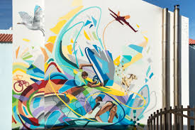 Surf Mural by Surfing Colors In Corralejo Official Website